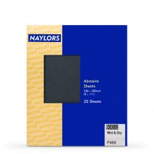 Naylor : 25 Sheets Wet & Dry Grade : 400