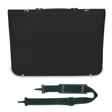 Mapac : A4 Academy Portfolio : Black : Shoulder Strap Included