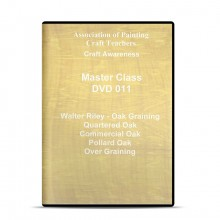 APCT : DVD : Oak Graining Quatered and Oak Over Graining : Walter Riley
