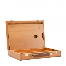 Cappelletto : CA-10 : Beechwood Coulisse Colour Box With Clips : 27x38cm