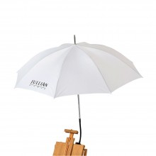 Jullian : White Easel Umbrella