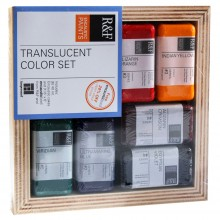 R&F : Encaustic (Wax Paint) : Translucent Colour Set