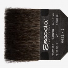 Escoda : Squirrel Hair Gilder's Tip : 60mm
