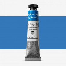 Sennelier : Egg Tempera Paint : 21ml : Cerulean Blue
