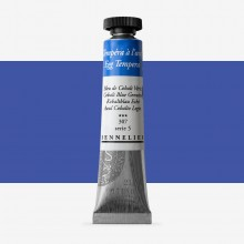 Sennelier : Egg Tempera Paint : 21ml : Cobalt Blue