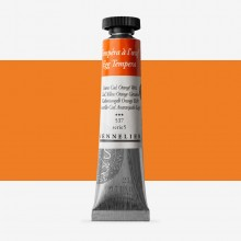 Sennelier : Egg Tempera Paint : 21ml : Cadmium Yellow Orange