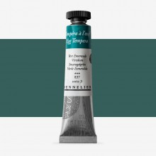 Sennelier : Egg Tempera Paint : 21ml : Viridian