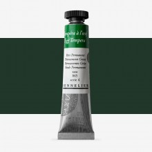 Sennelier : Egg Tempera Paint : 21ml : Permanent Green