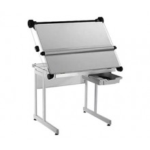 Vistaplan : Evesham Lift-Up Drawing Table Complete with Counterweight Parallel Motion A1 : UK Only