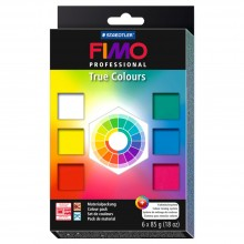 Staedtler : Fimo Professional True Colours Set