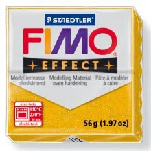 Staedtler : Fimo Effect : 57g Glitter Gold