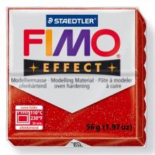 Staedtler : Fimo Effect : 57g Glitter Red