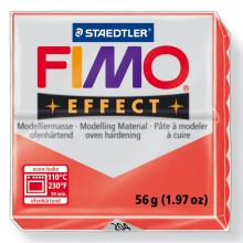 Staedtler : Fimo Effect : 57g Translucent Red