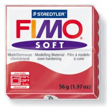 Staedtler : Fimo Soft : 57g Cherry Red