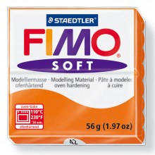 Staedtler : Fimo Soft : 57g Tangerine