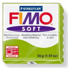 Staedtler : Fimo Soft : 57g Apple Green