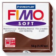 Staedtler : Fimo Soft : 57g Chocolate