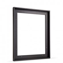 Jackson's : Black Tray (Float) Frame for Canvas 40x50cm : 23mm Rebate : 10mm Face