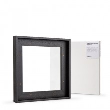 Jackson's : Ready Made Black Tray (Float) Frame and 30x30cm Canvas Set