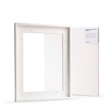 Jackson's : Ready Made White Tray (Float) Frame and 30x40cm Canvas Set