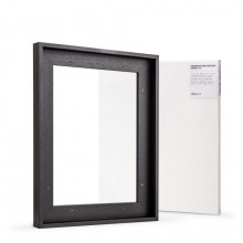 Jackson's : Ready Made Black Tray (Float) Frame and 30x40cm Canvas Set