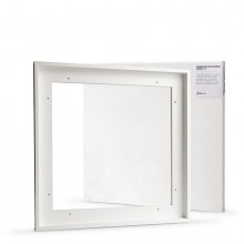 Jackson's : Ready Made White Tray (Float) Frame and 40x40cm Canvas Set