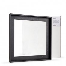 Jackson's : Ready Made Black Tray (Float) Frame and 40x40cm Canvas Set