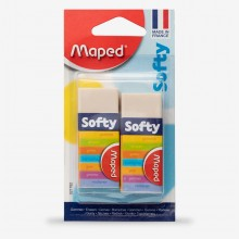 Maped : Softy Eraser : Pack of 2