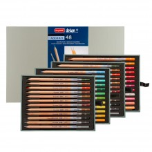Bruynzeel : Design : Aquarel Pencil : Box of 48 : Assorted Colours