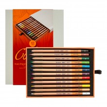 BRUYNZEEL : DESIGN : COLOUR PENCIL : BOX OF 12 : ASSORTED COLOURS