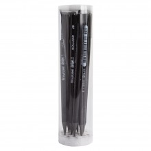 Bruynzeel : Design : Graphite Lead : 2B : Pack of 12