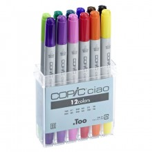 Copic : Ciao Marker : Basic Set of 12