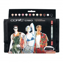 Copic : Ciao Marker : Manga Skin Colour : Set of 12