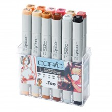 Copic : Sketch Marker Set : Skin Tones : Set of 12