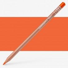 Caran dAche : Luminance 6901 : Colour Pencil : Dark Cadmium Orange