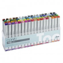 Copic : Marker : Set A : Set of 72