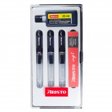 Aristo : Technical Pen Set 0.18,0.25,0.35 + Black Ink