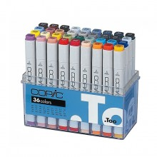 Copic : Marker : Set of 36