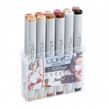 Copic : Marker : Skin Tones : Set of 12