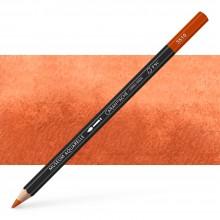 Caran d'Ache : Museum Aquarelle Pencil : Burnt Ochre