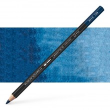Caran d'Ache : Museum Aquarelle Pencil : Prussian Blue