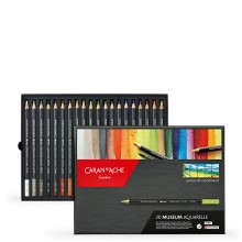 Caran d'Ache : Museum Aquarelle : Box Set of 20 Landscape Colours