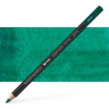 Caran d'Ache : Museum Aquarelle Pencil : Phthalocyanine Green