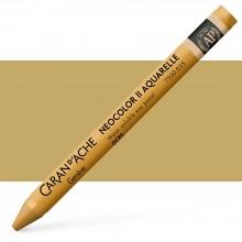 Caran d'Ache : Neocolor II : Watercolour Crayon : Ochre