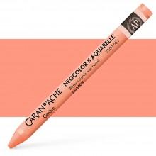 Caran d'Ache : Neocolor II : Watercolour Crayon : Salmon
