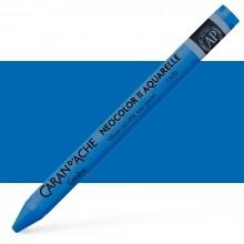 Caran d'Ache : Neocolor II : Watercolour Crayon : Sapphire Blue