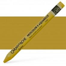 Caran d'Ache : Neocolor II : Watercolour Crayon : Olive