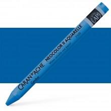 Caran d'Ache : Neocolor II : Watercolour Crayon : Blue