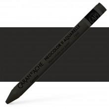 Caran d'Ache : Neocolor II : Watercolour Crayon : Paynes Grey