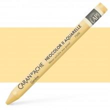 Caran d'Ache : Neocolor II : Watercolour Crayon : Sahara Yellow